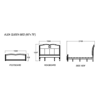 Alea Queen Bed