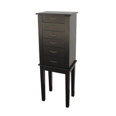 Amelia Five Drawer Jewelry Cabinet