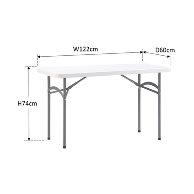 Anders 4ft Rectangular Table