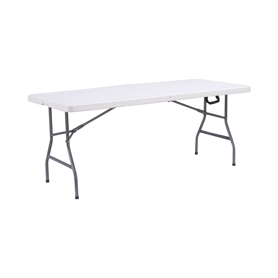 Anders 6ft Fold-in-Half Table - White