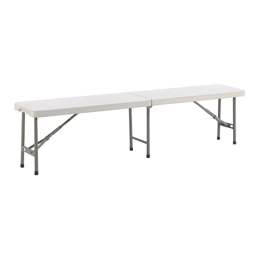 Anders 6ft Fold-in-half Bench Table - Mandaue Foam