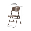 Anders Folding Chair - Brown