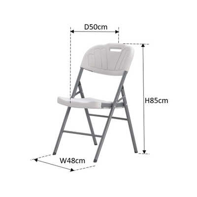 Anders Folding Chair - White