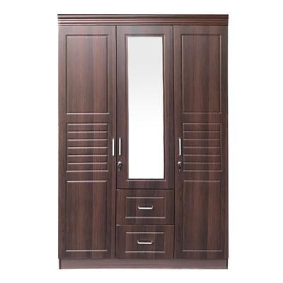 Antonia 3 Door Mirror Wardrobe