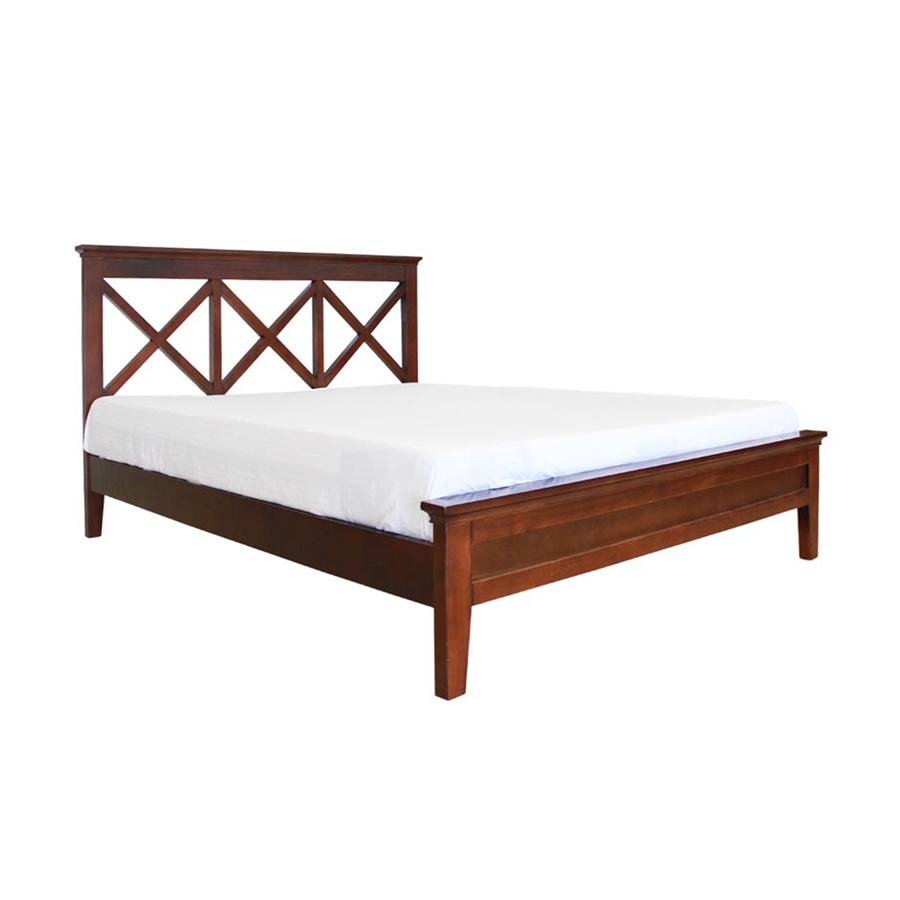 April Queen Bed - Mandaue Foam
