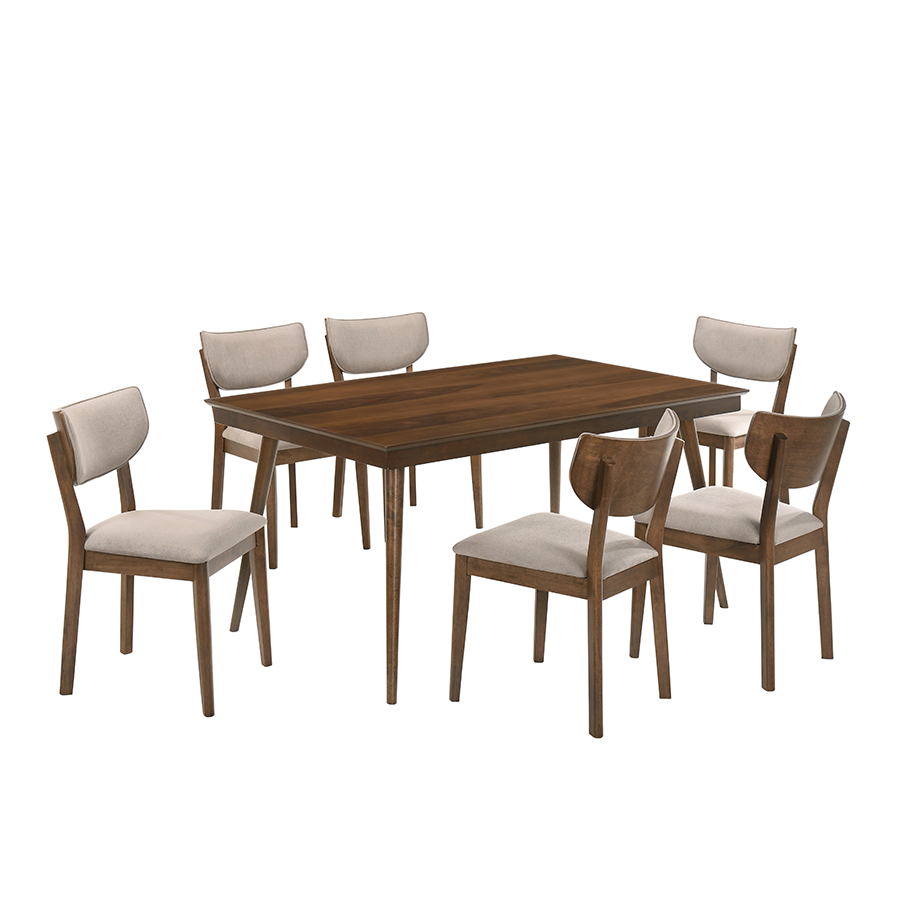 Arlyss & Eden 6 Seater Dining Set