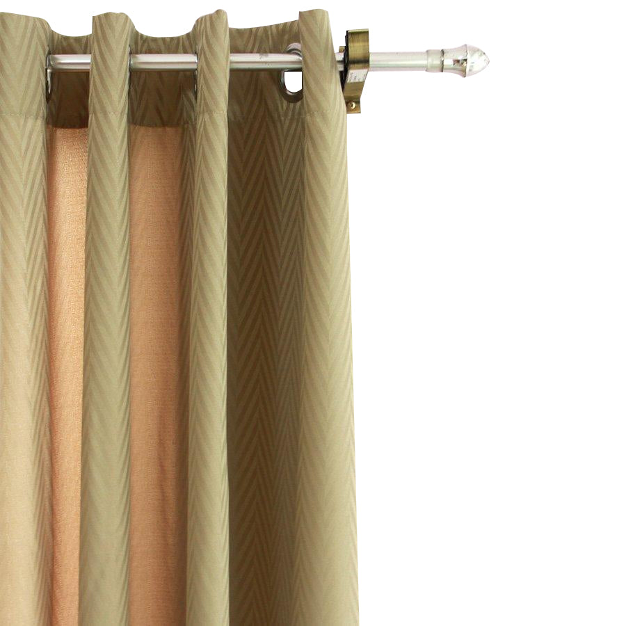 B1T1 YW-PA-063 Taupe Zigzag Grommet