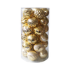 BA18A8003 8cm Christmas Balls Set of 30 (Gold)