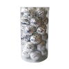 BA18A8003 8cm Christmas Balls Set of 30 (Silver)