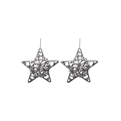 BF16S001 Star Christmas Décor Set of 2