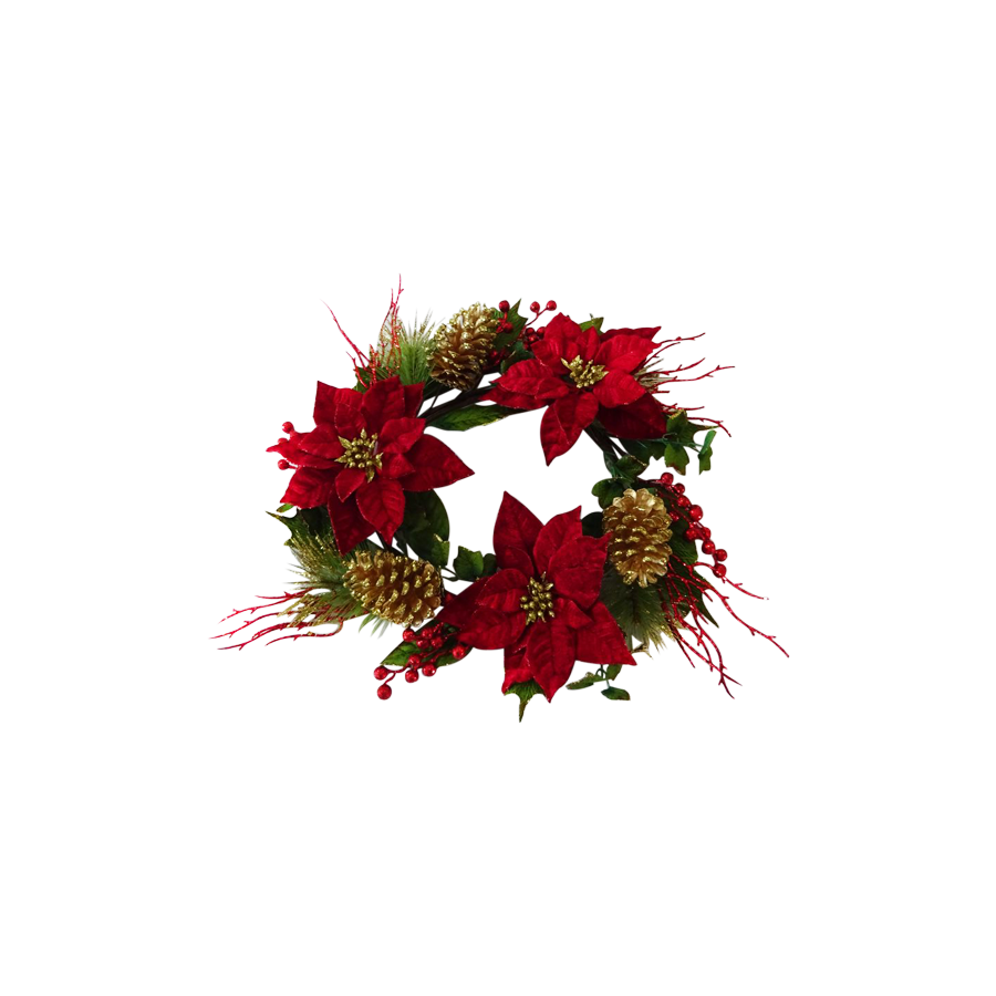 C41053-22''RG 22inches Wreath