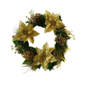 C41053A-22''G 22inches Wreath