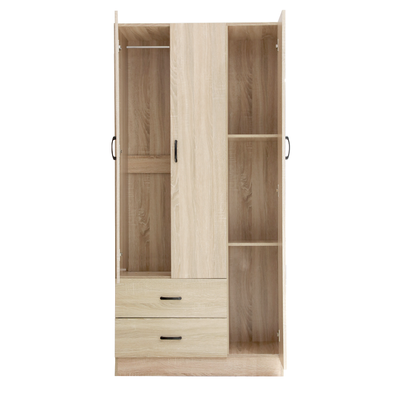 Calvin 3 Door Wardrobe