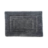 Ch002 Rectangle Pattern Rug - Dark Grey