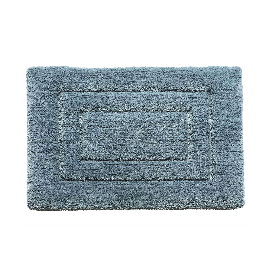 Ch002 Rectangle Pattern Rug - Slate Blue