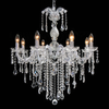 14004/8 Cr + Cl Clear Crystal Chandelier - Mandaue Foam
