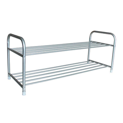 Cal Shoe Rack - Silver - Mandaue Foam