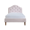 Chloe Upholstered Single Bed 36x75""