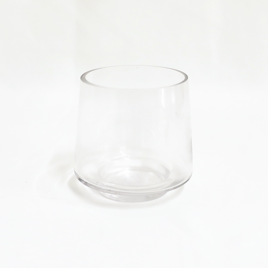 Clear Small Vase