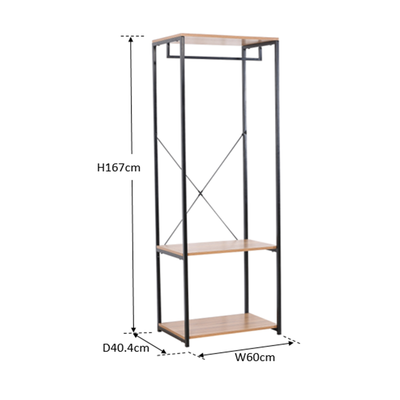 Cliff 60w Open Wardrobe