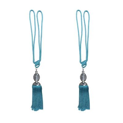 DQYKL Tassel with Glass By Pair