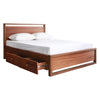 Denver Queen Bed 60x75 - Mandaue Foam