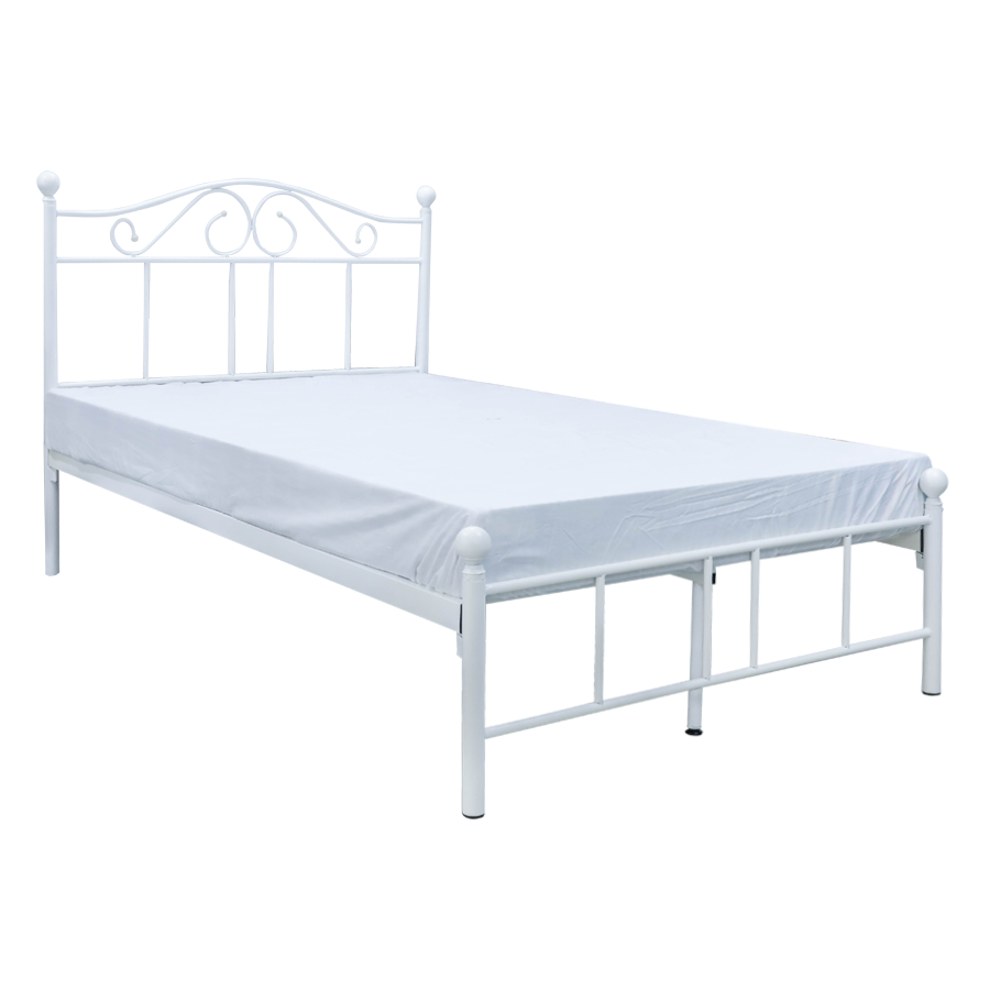 Dresden Metal Semi-Double Bed 48x75""