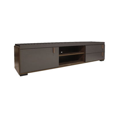 Dwayne TV Rack - Columbia + Grey