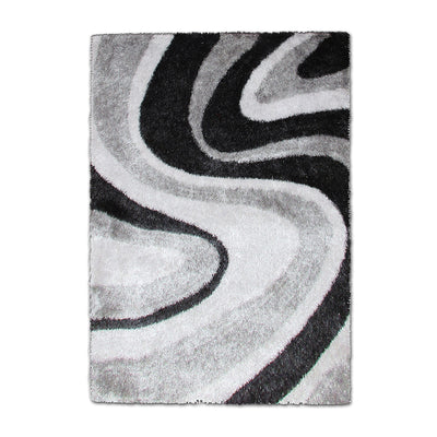 AWM-14293 Grey Pattern Carpet - Mandaue Foam