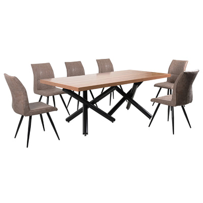 Franco 8 Seater Dining Set - Mandaue Foam