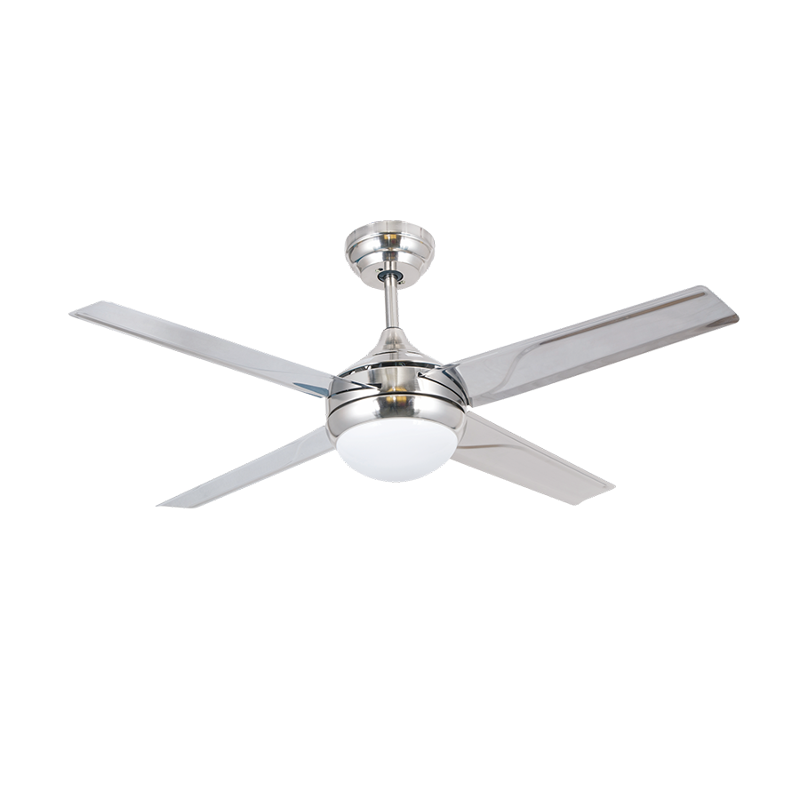 ESC-300-A White Ceiling Fan W/ Led Light