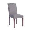 Ewer Upholstered Chair Only - Gray - Mandaue Foam