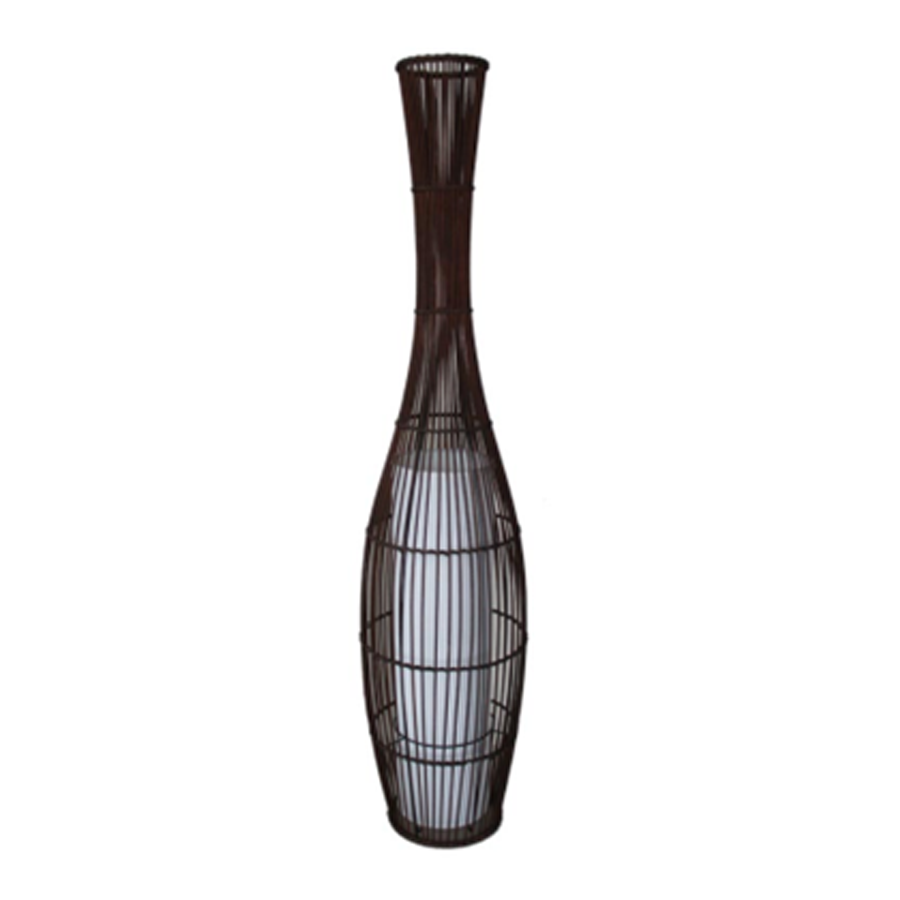 F-20913 Bamboo Floor Lamp