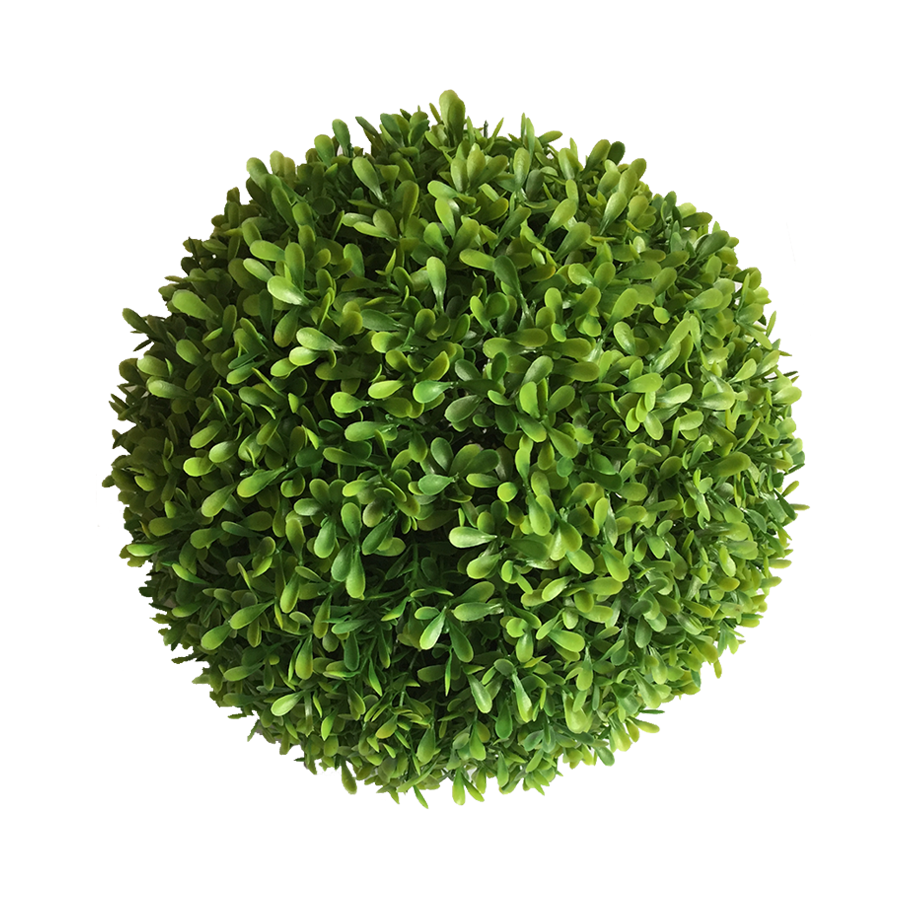 Faux Grass Topiary 30cm