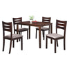 Gideon 4 Seater Dining Set - Mandaue Foam