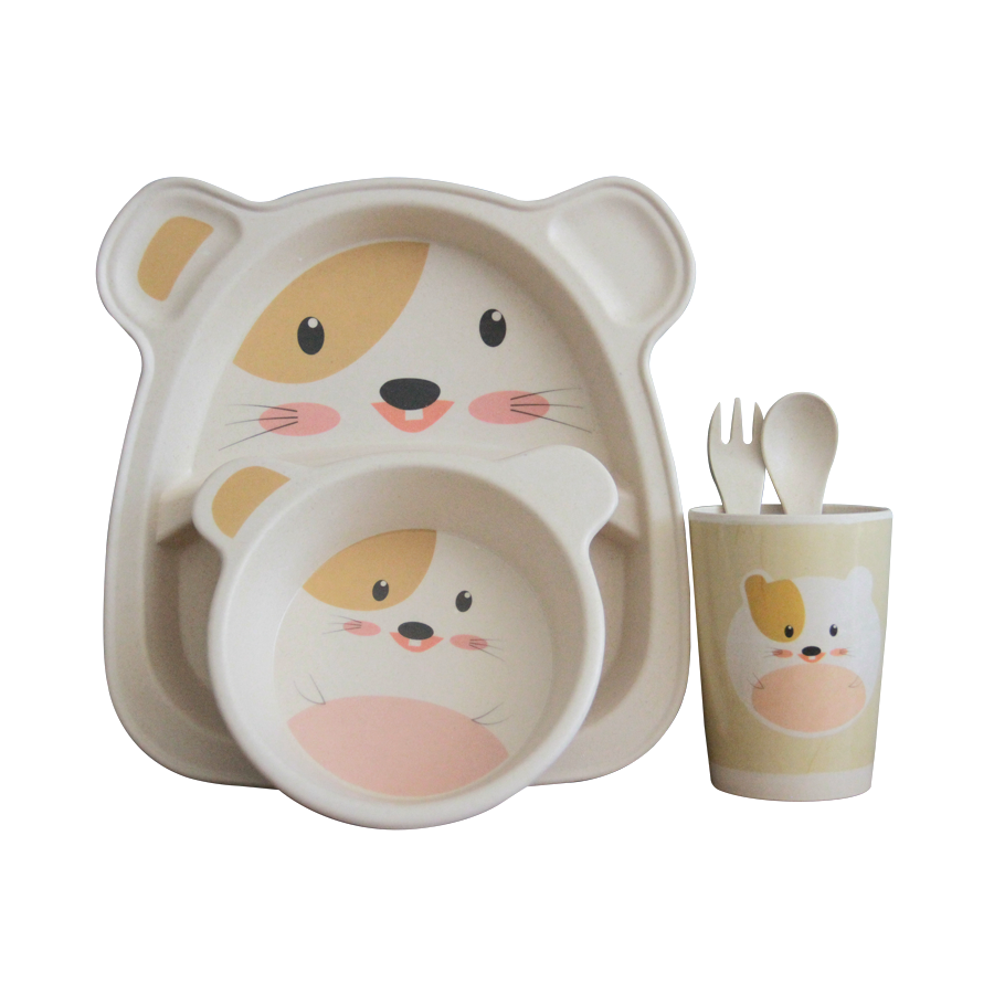 GJH-549 5pc Toddler Mealtime Set