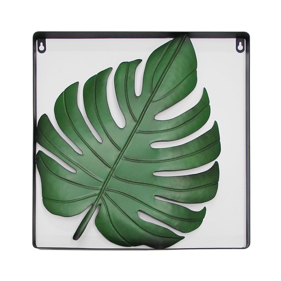 Gk7204 Shiny Leaf Wall Art