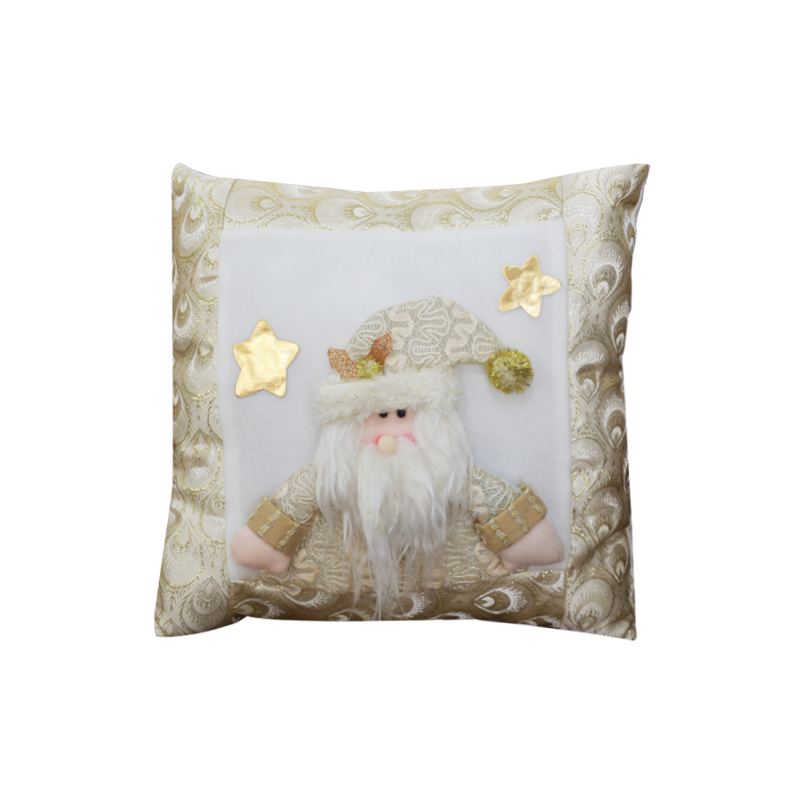GM890087 15'' Santa Christmas Pillow