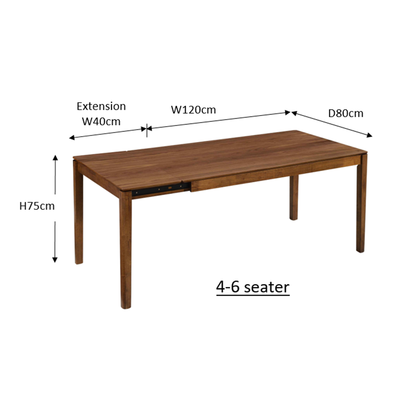 Ghost 4-6 Extension Table