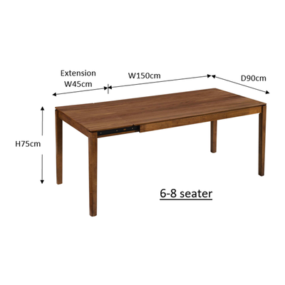 Ghost 6-8 Extension Table
