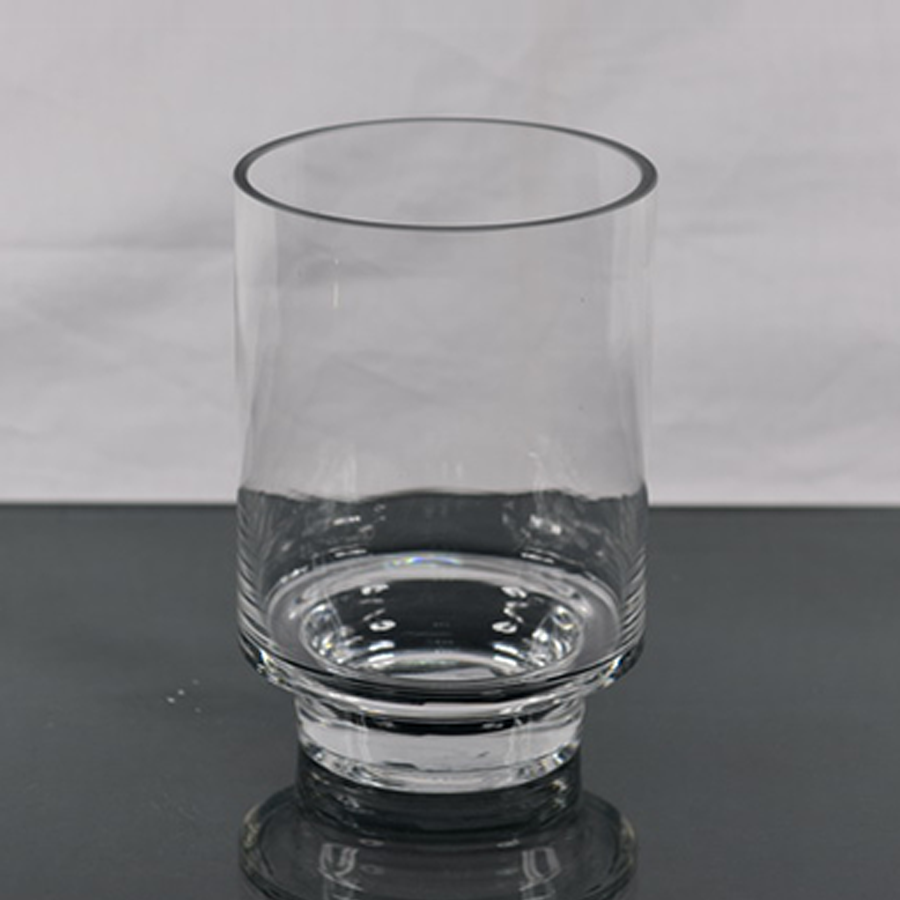 Glass Cylinder Table Vase 19cm Dia.