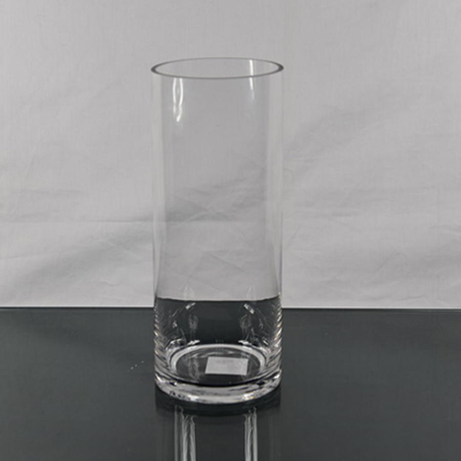 Glass Cylinder Table Vase H30cm