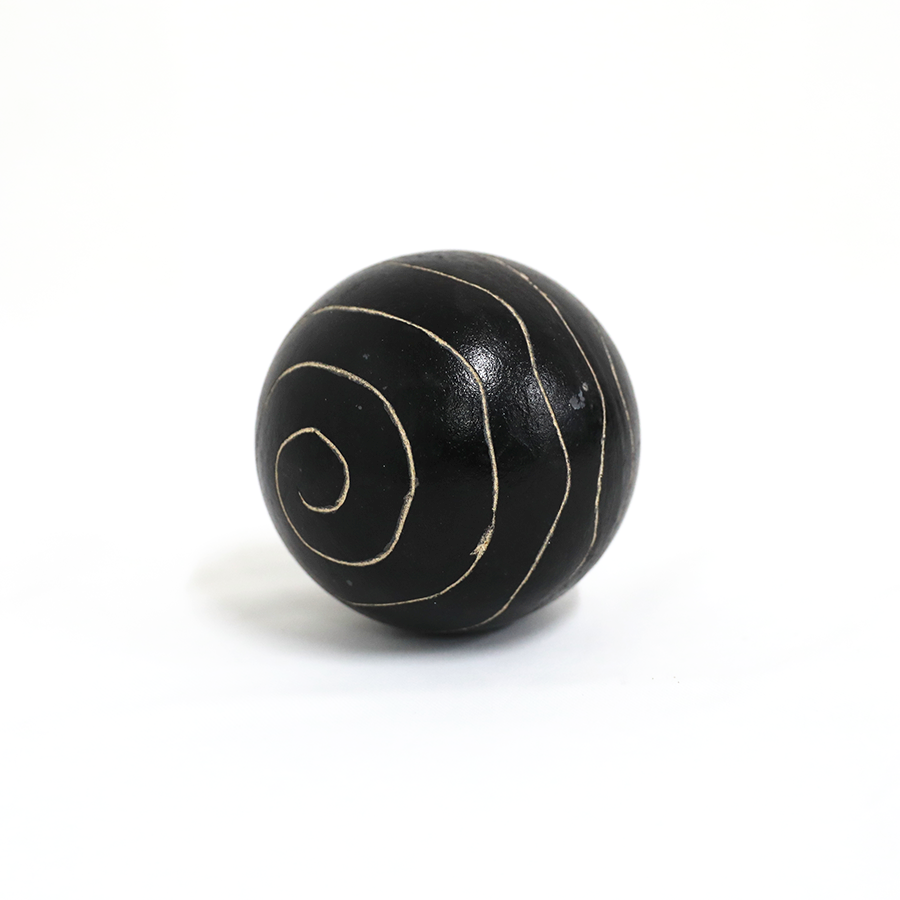 Gold And Black Ball 10cm