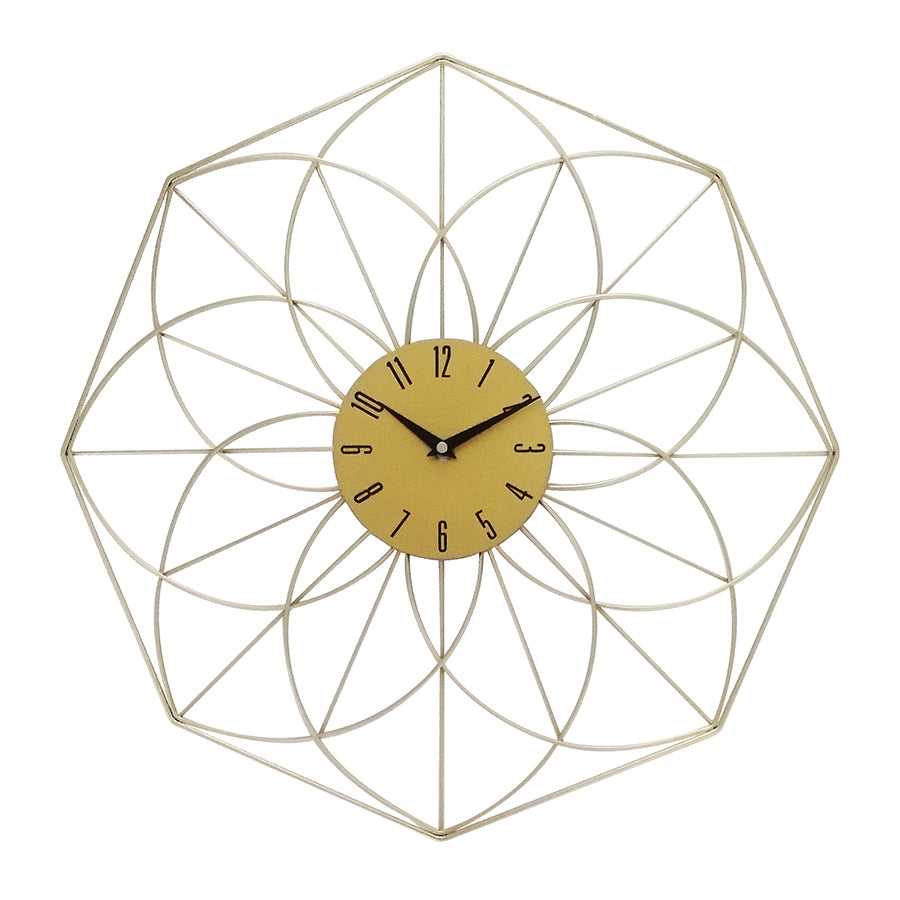 YGZ4985A Wall Gold Clock