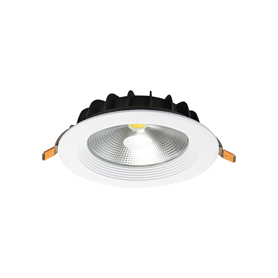 HY-C371 7W Daylight White Cob Circle Downlight