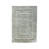 HY-Z-HP Microfiber Rug 40x60cm - Light Grey