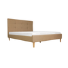 Hebron Upholstered Semi-Double Bed 48X75""