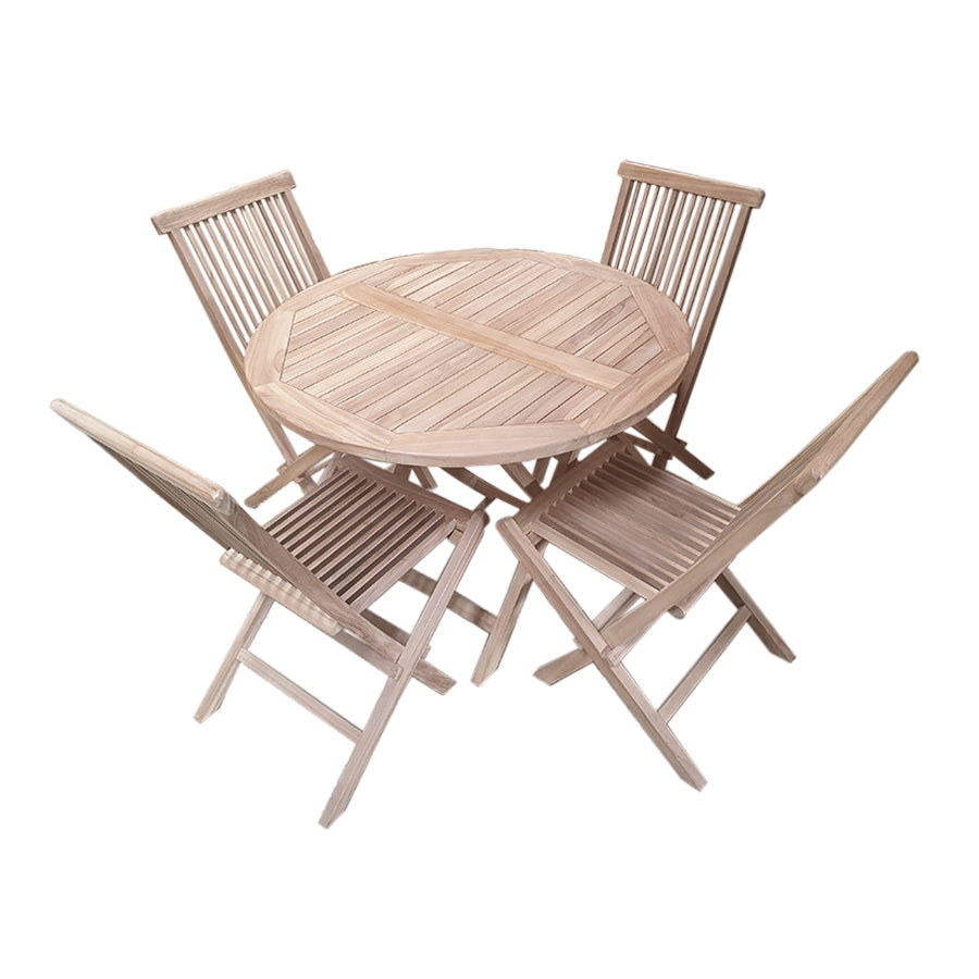 Honolulu 4 Seater Outdoor Dining Set