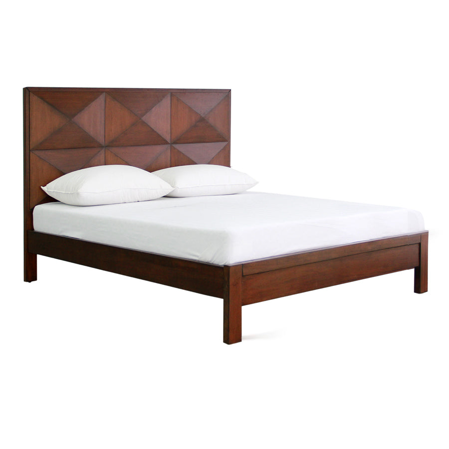Houston Queen Bed 60x75 - Mandaue Foam