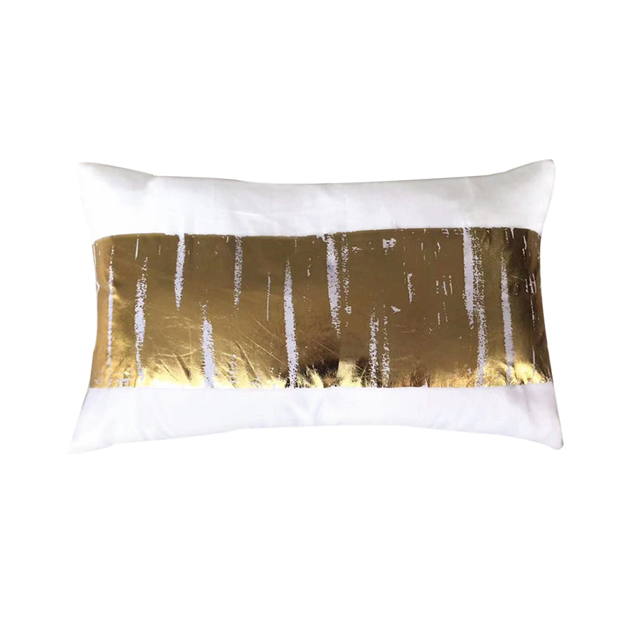 White Gold Kidney Pillow